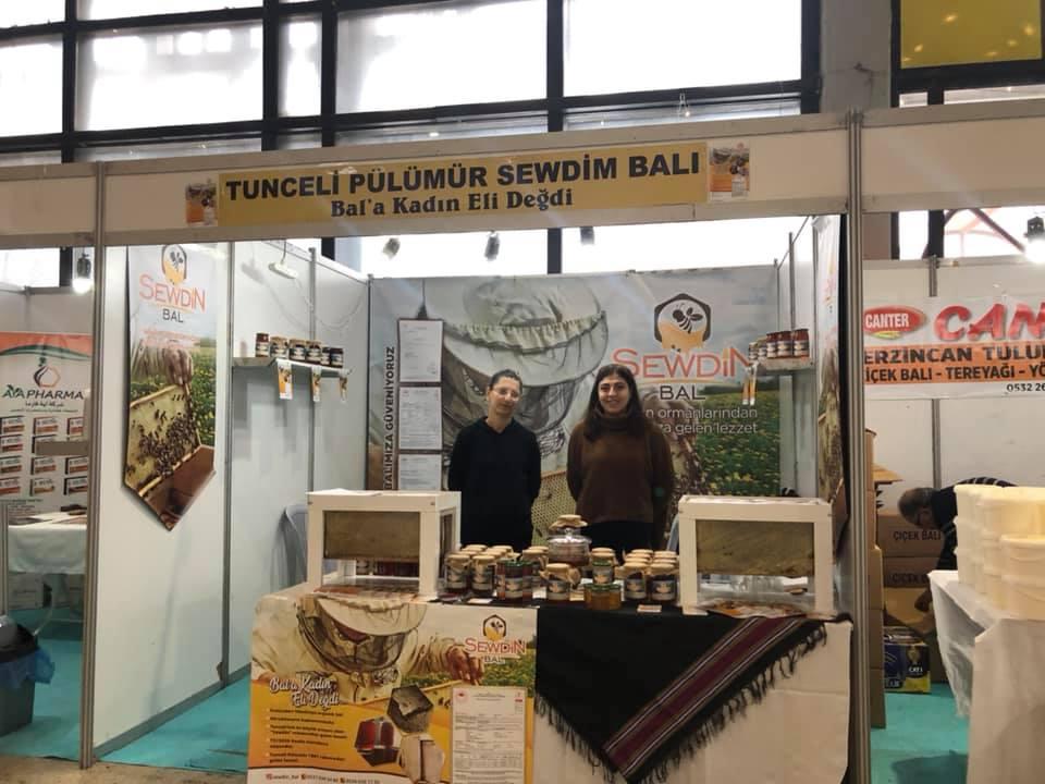 Pülümür Sewdin Balı Ankara Bal Günleri Fuarında Fotoğrafları