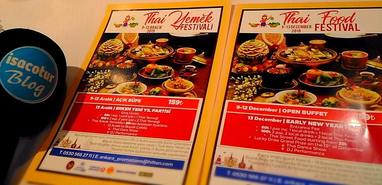 Tayland Sokak Yemekleri Festivali 2019 Ankara