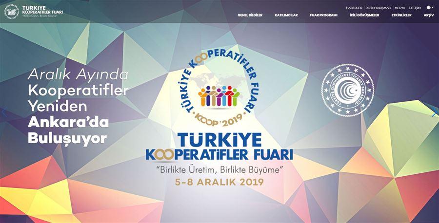 Türkiye Kooperatifler Fuarı 2019 Ankara