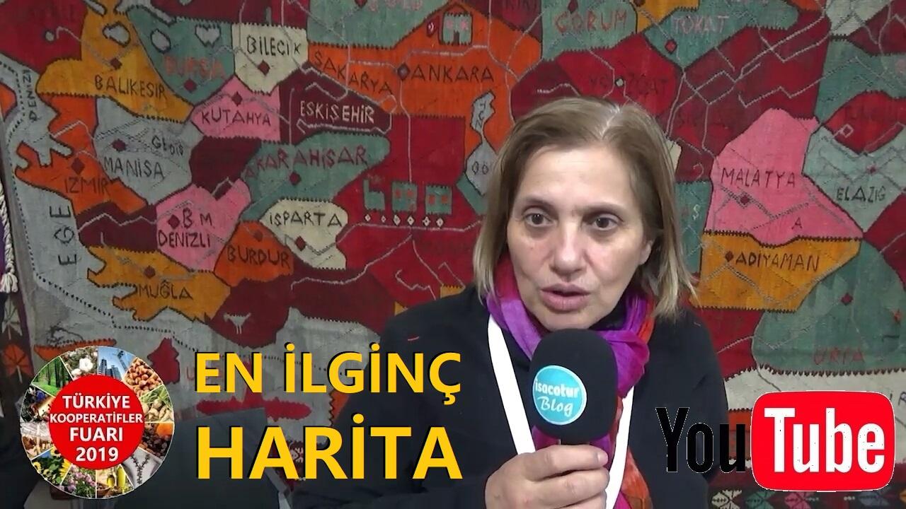 Türkiye Haritasını Kilime Dokuyan Artvinli Kadınlar ve Artvin Kadın Girişimciler Kooperatifi Başkanı Hatice Nur Ersöz