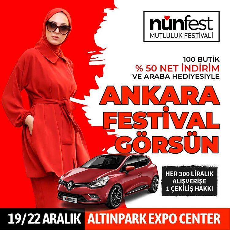 Mutluluk Festivali NunFest Ankara 2019