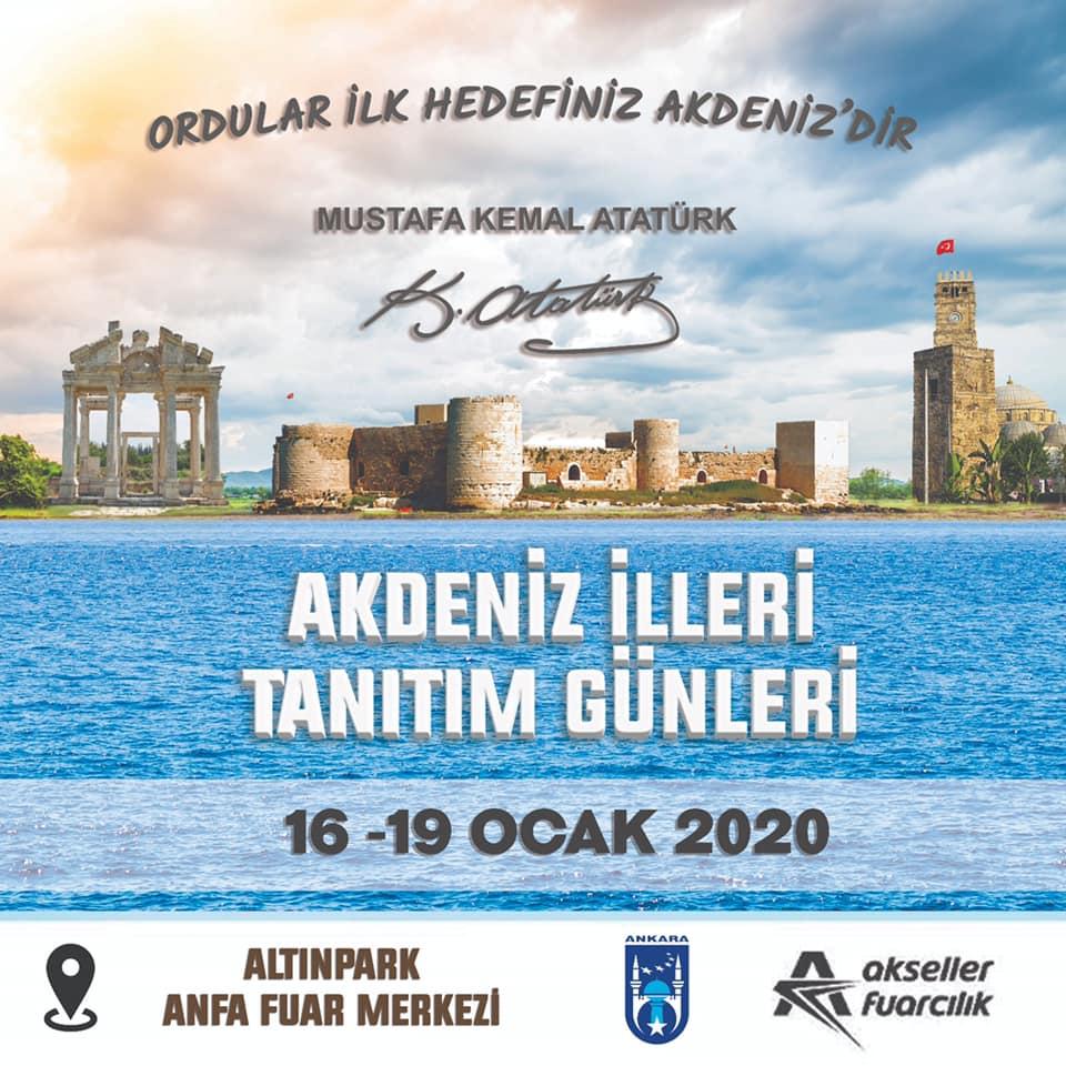 Akdeniz İlleri Tanıtım Günleri 2020