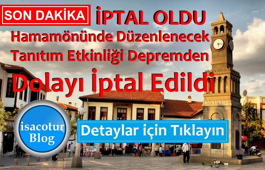 Sivrihisar Dövme Sucuk Festivali Tanıtımı 25 Ocak 2020 Cumartesi Ankara Hamamönündeki Etkinlik İptal Oldu