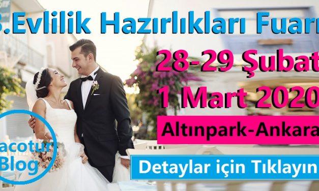 Evlilik Hazırlıkları Fuarı 2020Ankara