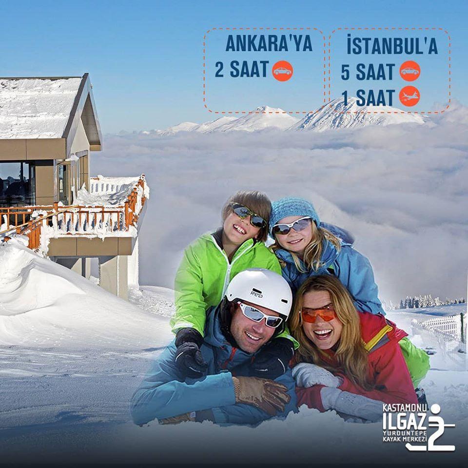 Yurduntepe Kayak Merkezi Konaklama