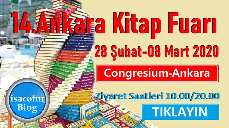 14.Ankara Kitap Fuarı 2020