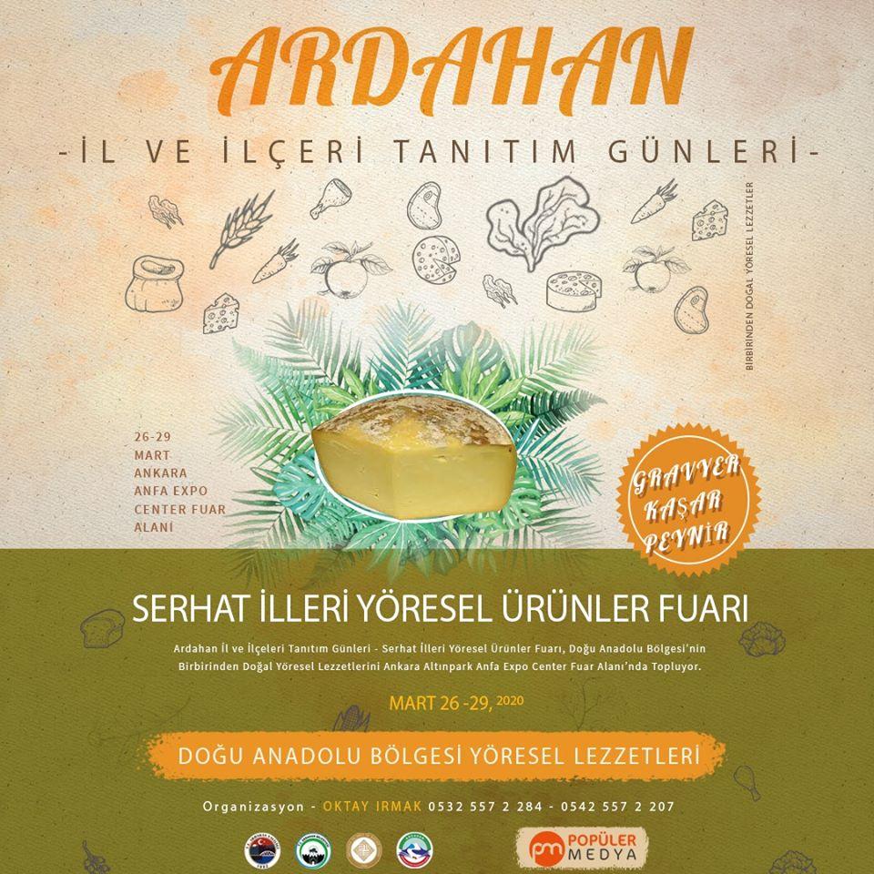 Ardahan İl ve İlçeleri Tanıtım Günleri 2020 Ankara