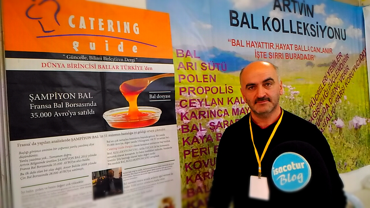 Bal Koleksiyoneri Atilla Yusuf Özcan 2019 Ankara Bal Günleri Fuarında