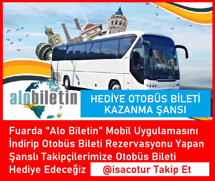 Alo Biletin Hediye Otobüs Bileti