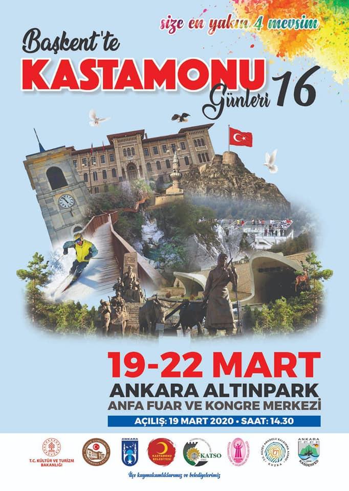 16.Başkent'te Kastamonu Tanıtım Günleri 2020