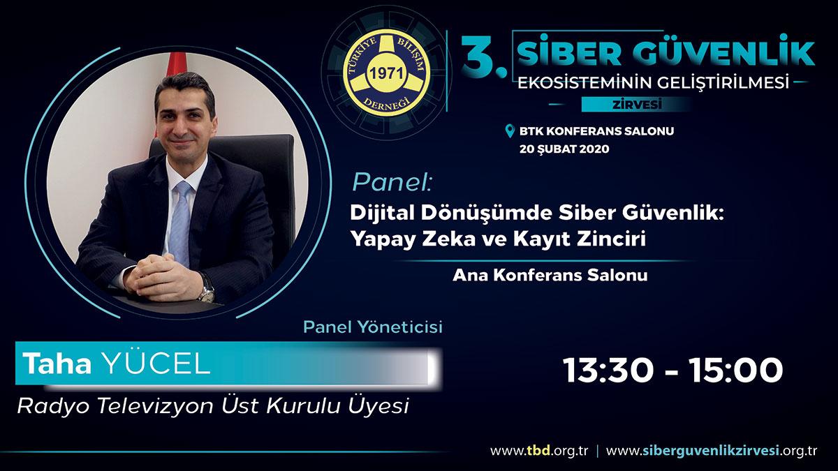 3.Siber Güvenlik Zirvesi Konuşmacıları