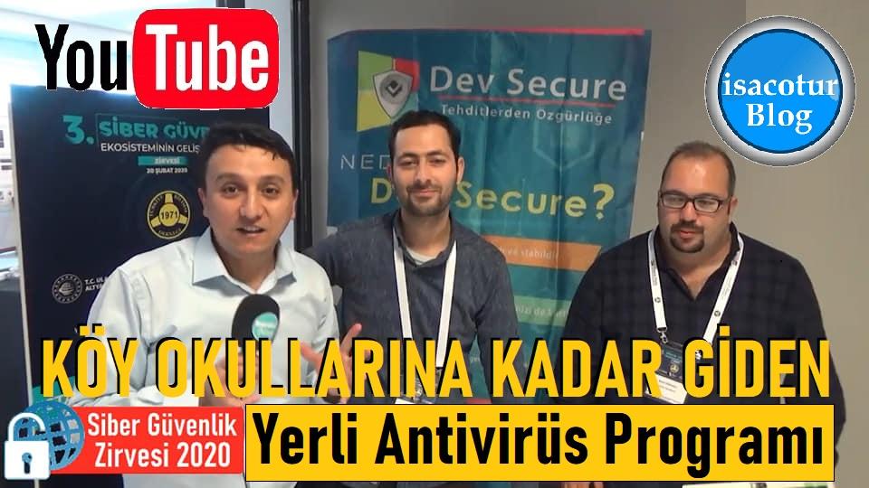 Köy Okullarına Kadar Gidip Eğitim Veren Yerli Antivirüs Programı DEV SECURE Siber Güvenlik Zirvesinde