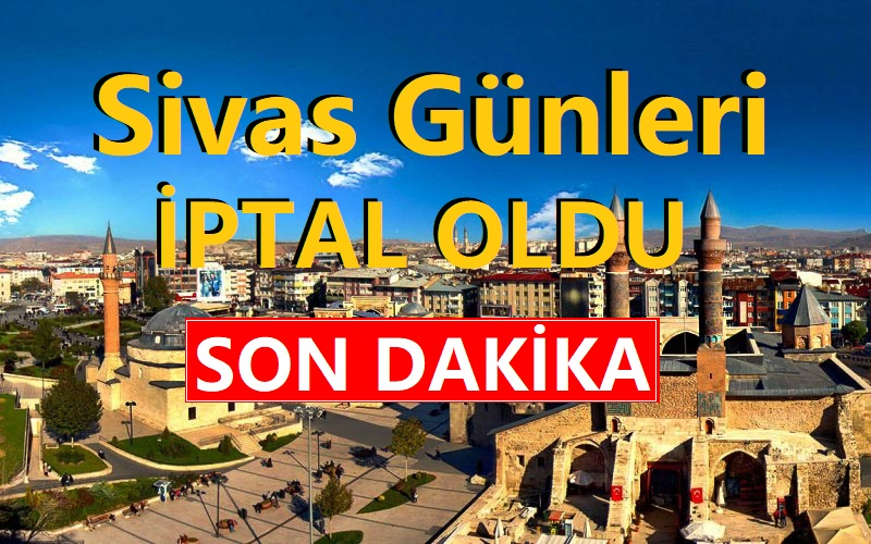 2020 Ankara Sivas Tanıtım Günleri İptal!