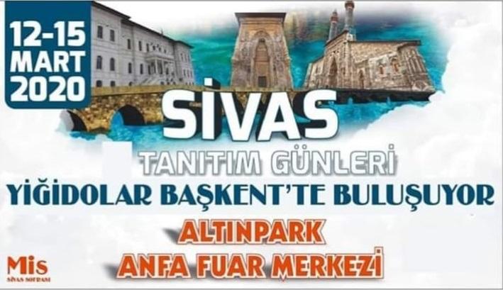 Ankara Sivas Günleri 2020 Stant Rezervasyon
