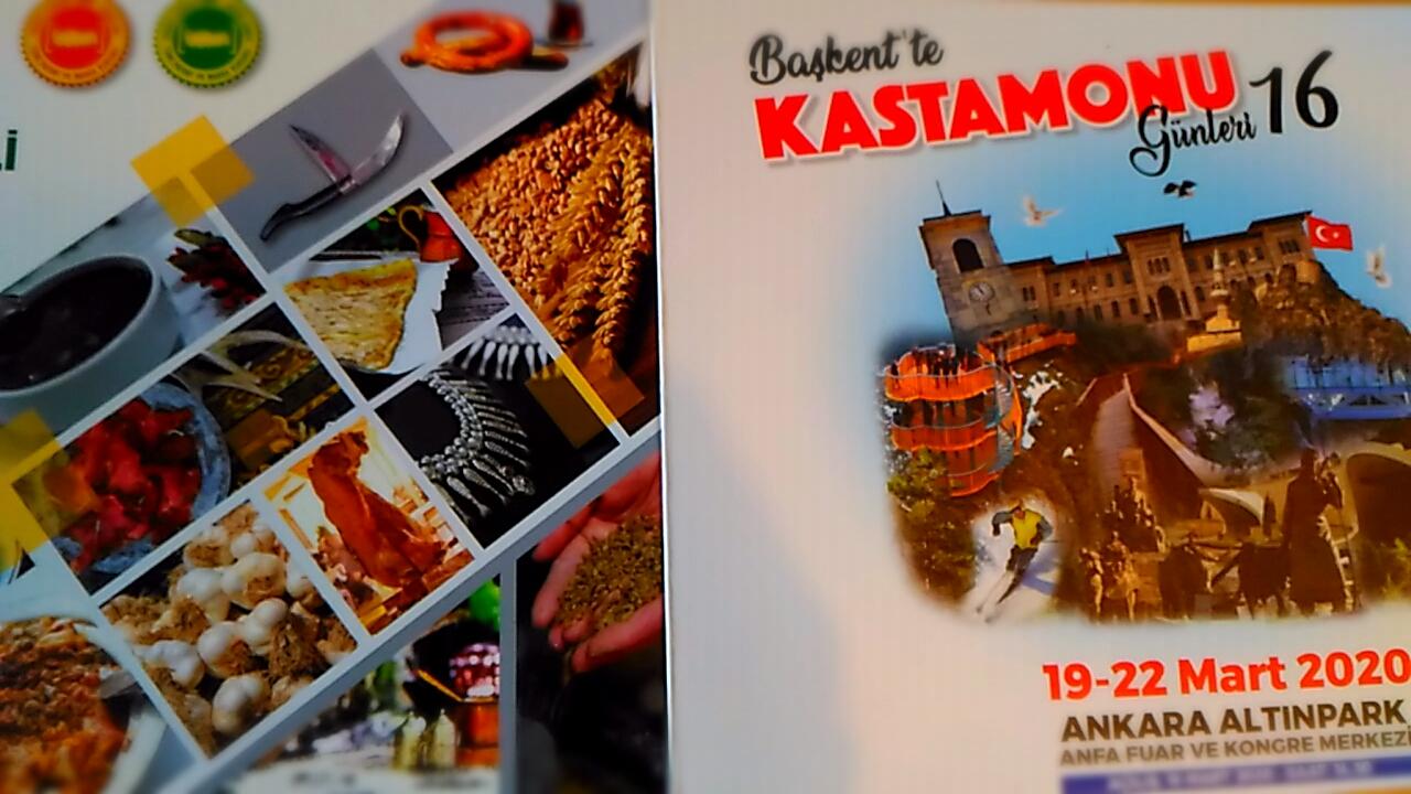 Başkent'te Kastamonu Tanıtım Günleri İptal Oldu
