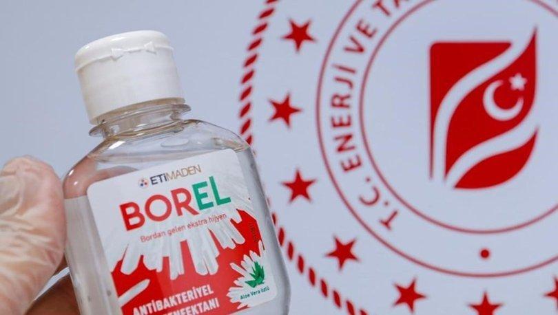 Borel Dezenfektan Satışına Başlandı