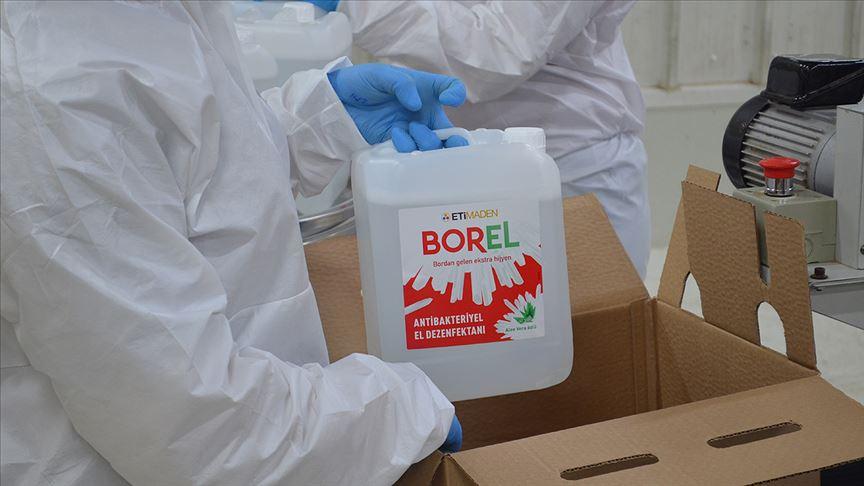 Borel Dezenfektan 1 ve 5 Litrelik Boyları Satışa Sunuldu