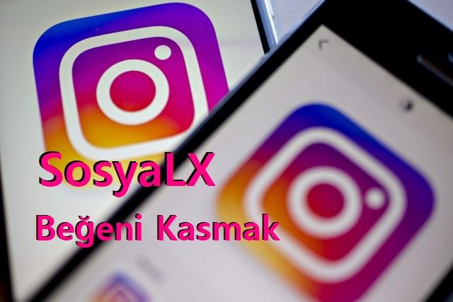SosyalX ile İnstagram Beğeni Kasmak