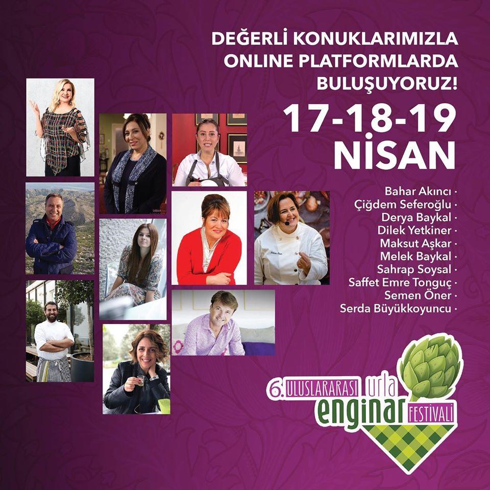 Urla Enginar Festivali 2020 Etkinlik Programı