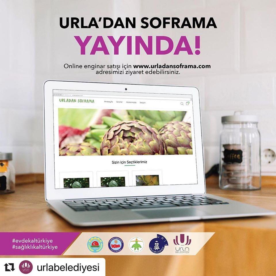 Urla Belediyesi Enginar Sipariş
