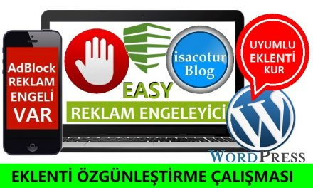 WordPress Anti Adblock Eklentisi