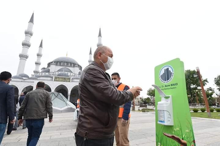 İlk Cuma Namazı Kılındı, Altındağ Belediyesi