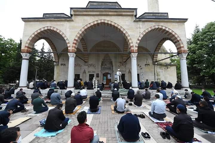 İlk Cuma Namazı Kılındı, Altındağ Belediyesi, Melike Hatun Camii