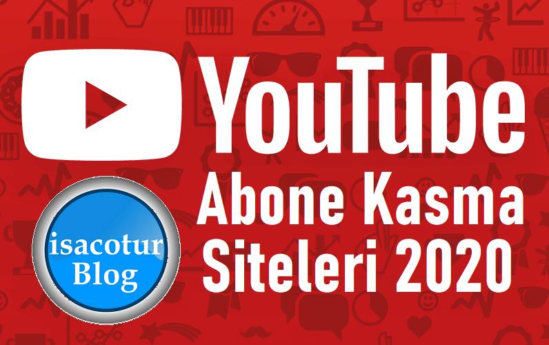 YouTube Abone Kasma Siteleri 2020