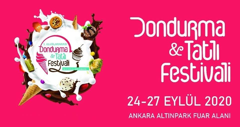 3.Uluslararası Dondurma ve Tatlı Festivali Ankara 2020