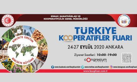 Türkiye Kooperatifler Fuarı 2020