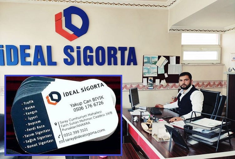 İdeal Sigorta Pursaklar Saray Yakup Can Bıyık