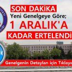İçişleri Bakanlığı Genelgesi 1 Aralık'a Kadar Fuarlar Ertelendi