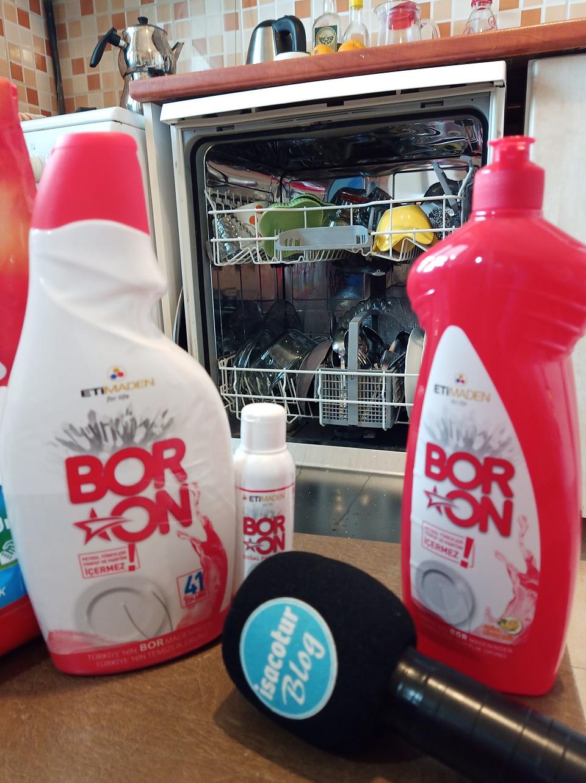 Boron Bulaşık Makinesi Deterjanı Fotoğrafları