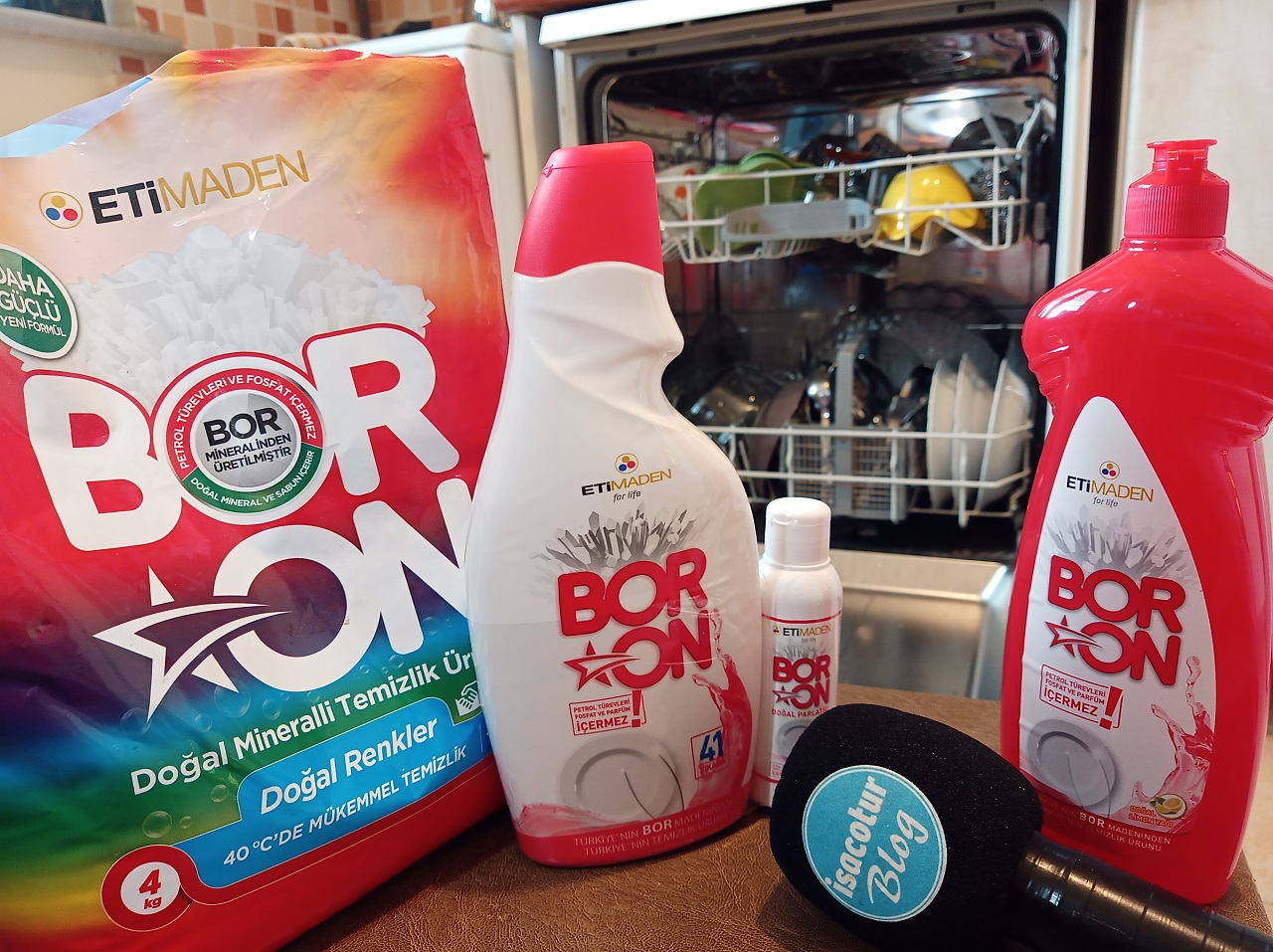 Boron Bulaşık Makinesi Deterjanı