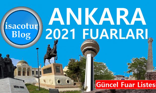 Ankara 2021 Fuar Takvimi