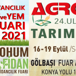 AGROTEC Tarım Fuarı 2021