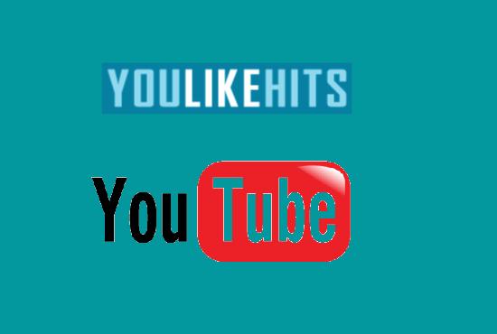 YouLikeHits ile Youtube İzleme Kasmak