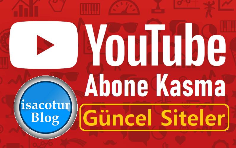YouTube Abone Kasma Siteleri