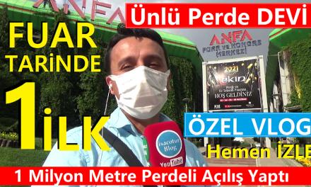 Ünlü Perde Devi Ekin Brode 2021 Ankara Fuarı