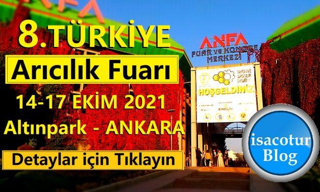8.Türkiye Arıcılık Fuarı 2021