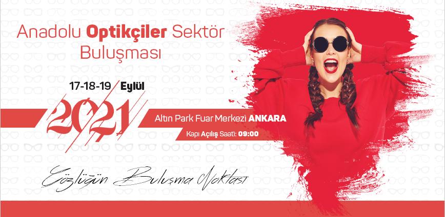 Anadolu Optikçiler Sektör Buluşması Altınpark Fuar Alanında