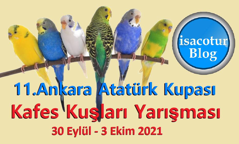 11. Ankara Atatürk Kupası Kafes Kuşları Yarışması