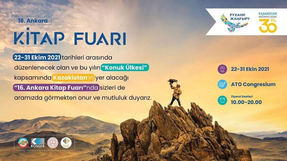 16. Ankara Kitap Fuarı 2021