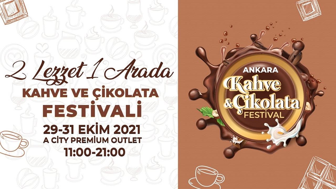 Ankara Kahve ve Çikolata Festivali 29-31 Ekim 2021 tarihleri arasından Acity Premium Outlet AVM'